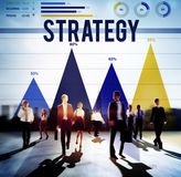 Strategy Guidelines Mission Development Planning Concept Royalty Free Stock Photos