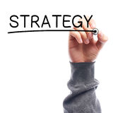 Strategy Royalty Free Stock Photography