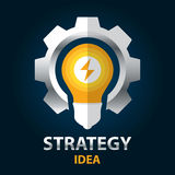 Strategy idea Royalty Free Stock Photography