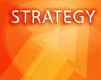 Strategy illustration Stock Images