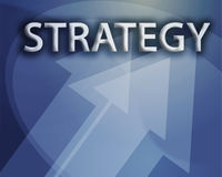 Strategy illustration Stock Image