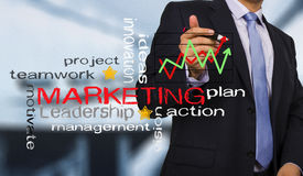 Strategy marketing concept Stock Photo