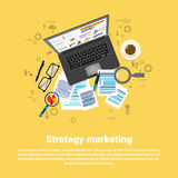 Strategy Marketing Plan Business Web Banner Royalty Free Stock Photo