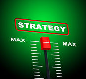 Strategy Max Means Upper Limit And Extreme Royalty Free Stock Photo