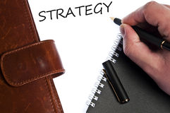 Strategy message Royalty Free Stock Photos