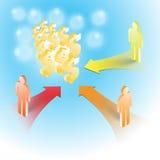 Strategy money concept Stock Photos