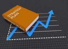 Strategy plan Royalty Free Stock Photos