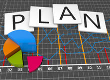 Strategy plan Royalty Free Stock Photo