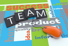 Strategy plan stock images