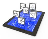 Business process chart Stock Photography