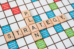 Strategy Plan Stock Photography