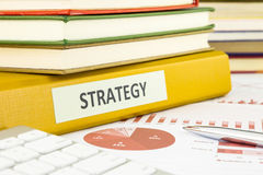Strategy planning and budget management Stock Photo