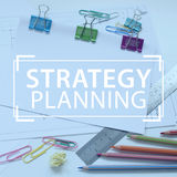 Strategy Planning Stock Photography