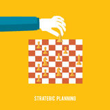 Strategy planning concept Royalty Free Stock Photos