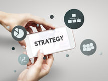 Strategy Planning Cooperation Collaboration Concept Royalty Free Stock Photo