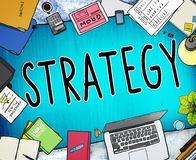 Strategy Planning Solution Vision Tactics Concept Royalty Free Stock Photos
