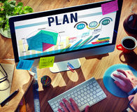 Strategy Planning Vision Growth Success Concept Stock Photo