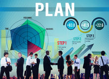 Strategy Planning Vision Growth Success Concept Royalty Free Stock Images
