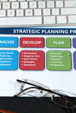 Strategy Plans Royalty Free Stock Images