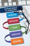 Strategy Plans Stock Photo
