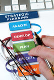 Strategy Plans Stock Images