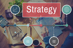 Strategy Process Investment Global Business Concept Royalty Free Stock Photos