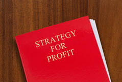 Strategy for profit Royalty Free Stock Image