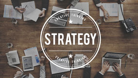 Strategy Solution Planning Business Success Target Concept Royalty Free Stock Photography