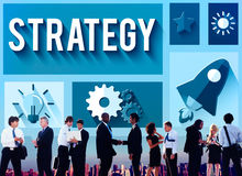 Strategy Start up Creativity Inspiration Launch Concept Royalty Free Stock Photo
