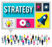 Strategy Start up Creativity Inspiration Launch Concept Royalty Free Stock Images