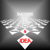 Strategy of success Stock Images