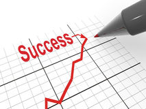 Strategy of success stock illustration