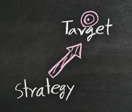 Strategy,target royalty free stock photos