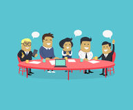 Strategy Team Brainstorm Royalty Free Stock Image