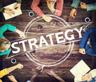 Strategy Technique Business Planning Concept Stock Image