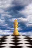 Strategy for Troubled Times. Concepts of leadership when your business is going through difficult times or change royalty free stock images