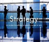 Strategy Vision Planning Operation Tactics Process Concept Stock Photo