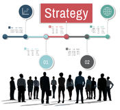 Strategy Vision Planning Process Operation Concept Royalty Free Stock Photography