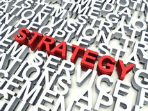 Strategy Stock Image