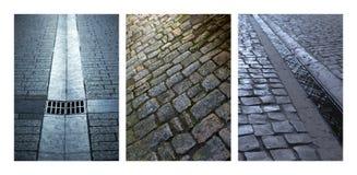 straten stock afbeeldingen
