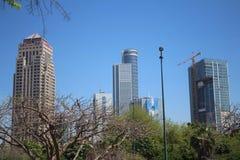 Straten en gebouwen, Tel Aviv, Israël stock foto