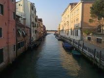 Straten en stegen in Venetië Royalty-vrije Stock Fotografie