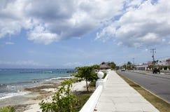 Straten op Cozumel-Eiland royalty-vrije stock foto