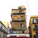 Straten in Palermo royalty-vrije stock fotografie