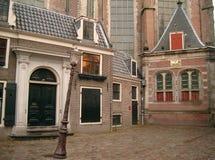 Straten van Amsterdam Stock Foto's