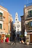Straten van Bari, Italië Stock Afbeeldingen