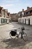 Straten van Brugge, België royalty-vrije stock foto's
