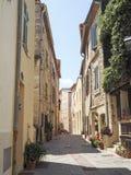 Straten van de stad van Antibes Royalty-vrije Stock Foto's