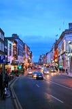 Straten van Dublin Stock Foto's