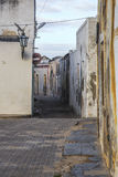 Straten van Eiland Mozambique Stock Fotografie